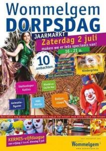 Jaarmarkt-Wommelgem-20160702-Affiche